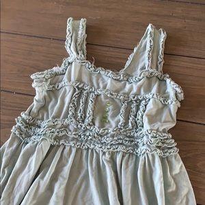 Matilda Jane Light mint tank dress size 8